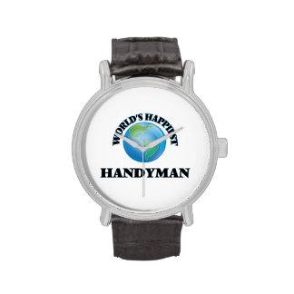 World's Happiest Handyman Watch