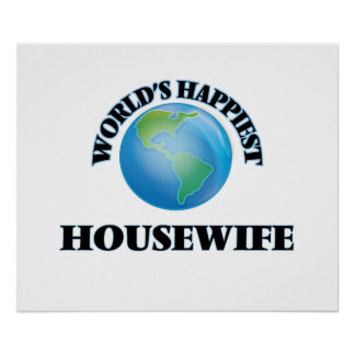 World's Happiest Housewife Poster