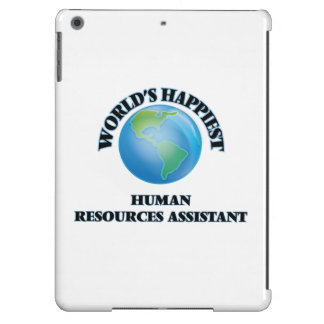 World's Happiest Human Resources Assistant Cover For iPad Air