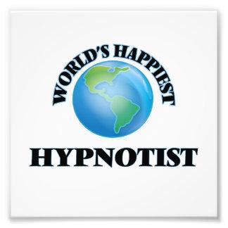 World's Happiest Hypnotist Photo Print