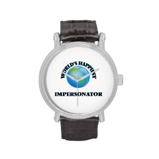 World's Happiest Impersonator Wrist Watch