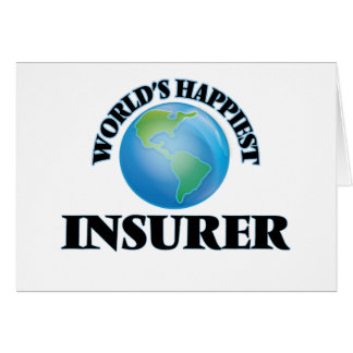 World's Happiest Insurer Note Card