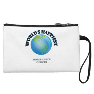 World's Happiest Intelligence Officer Wristlet