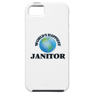 World's Happiest Janitor iPhone 5 Cover