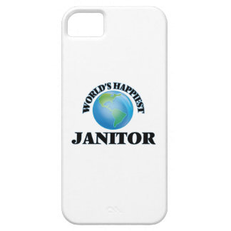 World's Happiest Janitor iPhone 5 Case