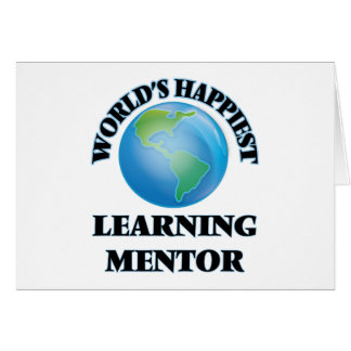 World's Happiest Learning Mentor Stationery Note Card