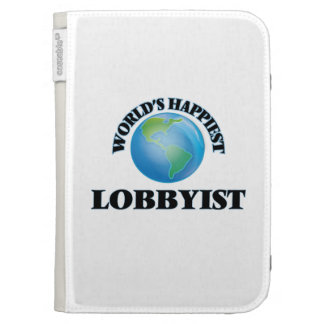 World's Happiest Lobbyist Case For The Kindle