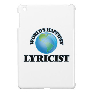 World's Happiest Lyricist iPad Mini Covers