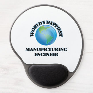 World's Happiest Manufacturing Engineer Gel Mouse Pad