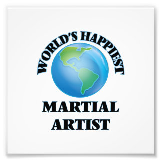 World's Happiest Martial Artist Photo Print