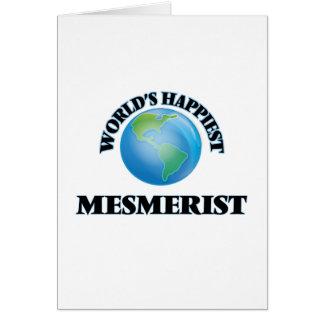World's Happiest Mesmerist Greeting Card