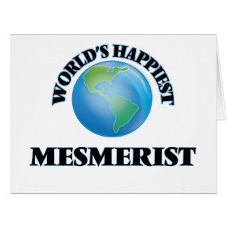 World's Happiest Mesmerist Big Greeting Card