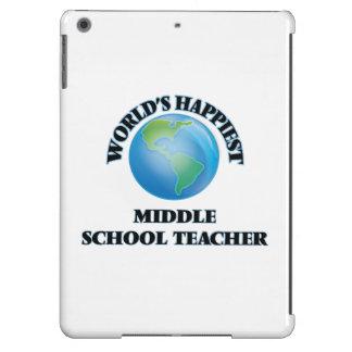 World's Happiest Middle School Teacher iPad Air Cover