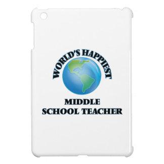 World's Happiest Middle School Teacher iPad Mini Case