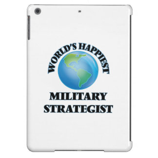 World's Happiest Military Strategist Cover For iPad Air