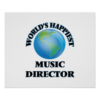 World's Happiest Music Director Poster