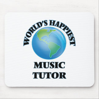 World's Happiest Music Tutor Mouse Pad