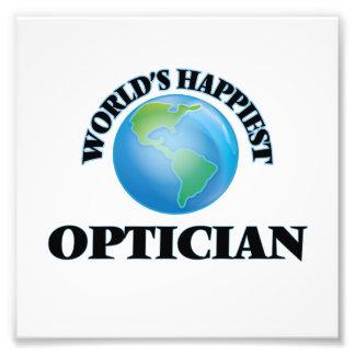 World's Happiest Optician Photo Print