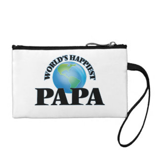 World's Happiest Papa Coin Purse