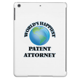 World's Happiest Patent Attorney iPad Air Covers