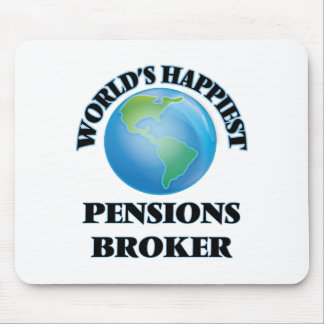 World's Happiest Pensions Broker Mouse Pad