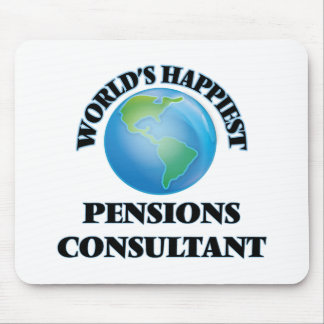 World's Happiest Pensions Consultant Mouse Pad