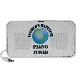 World's Happiest Piano Tuner iPod Speakers