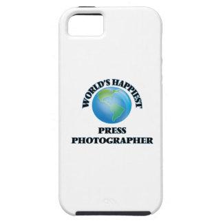 World's Happiest Press Photographer iPhone 5 Cases