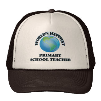 World's Happiest Primary School Teacher Trucker Hat