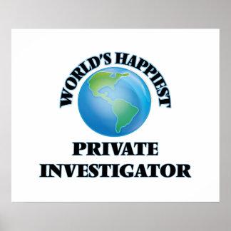 World's Happiest Private Investigator Poster