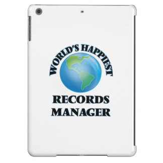 World's Happiest Records Manager iPad Air Cases