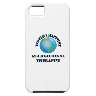 World's Happiest Recreational Therapist iPhone 5 Cases