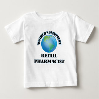 World's Happiest Retail Pharmacist T Shirts