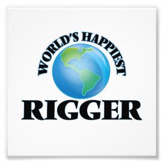 World's Happiest Rigger Photo Print