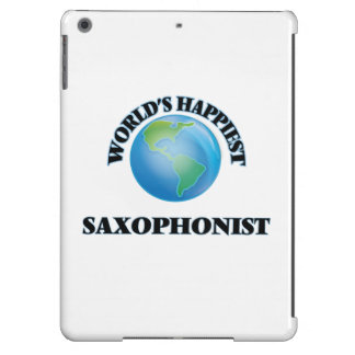 World's Happiest Saxophonist Cover For iPad Air