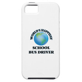 World's Happiest School Bus Driver iPhone 5 Cover