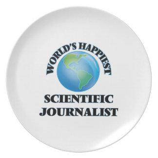 World's Happiest Scientific Journalist Plate
