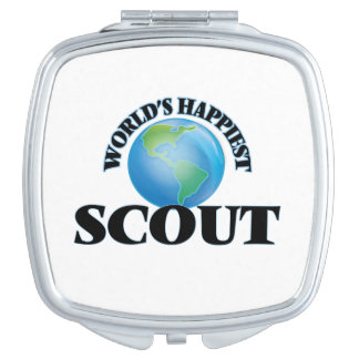 World's Happiest Scout Compact Mirrors