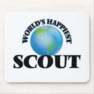 World's Happiest Scout Mouse Pad
