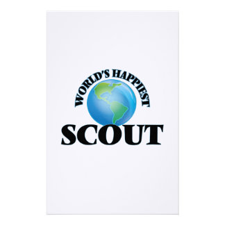 World's Happiest Scout Stationery