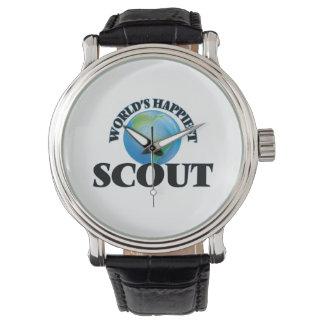 World's Happiest Scout Wristwatch