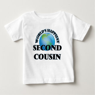 World's Happiest Second Cousin Tee Shirt