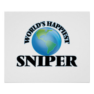 World's Happiest Sniper Poster