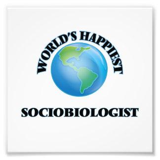 World's Happiest Sociobiologist Photo Print