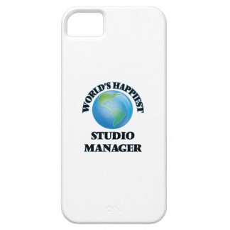 World's Happiest Studio Manager iPhone 5 Case