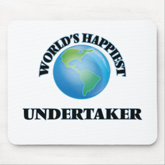 World's Happiest Undertaker Mouse Pad