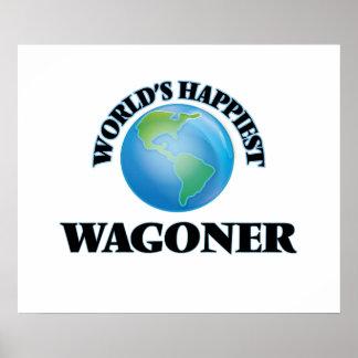 World's Happiest Wagoner Poster