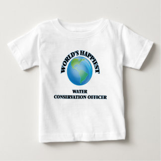 World's Happiest Water Conservation Officer Tees