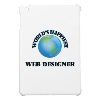 World's Happiest Web Designer iPad Mini Covers