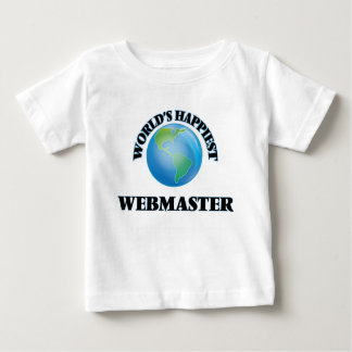 World's Happiest Webmaster Infant T-shirt